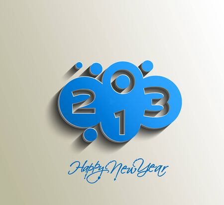 Happy new year 2013 celebration design. Stock Vector - 16818441