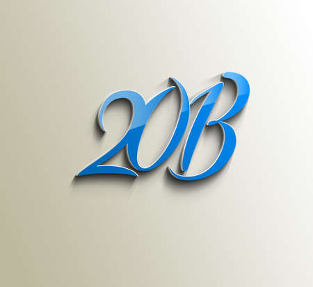 Happy new year 2013 celebration design. Stock Vector - 16818645