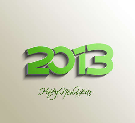 New year 2013 background for new year design.  Vector
