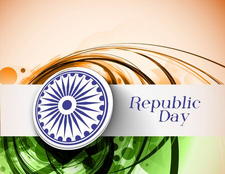 India flag with Event Original design, vector illustration Stock Vector - 18559461