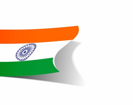 India flag with Event Original design illustration Stock Vector - 18552287