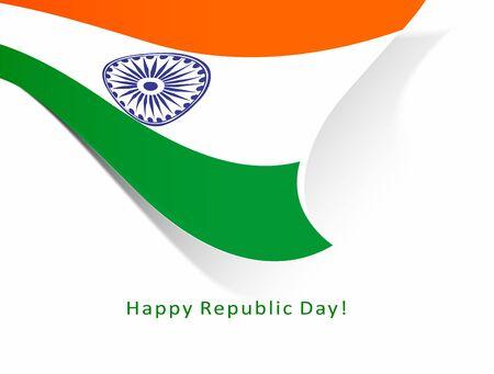 India flag with Event Original design illustration Stock Vector - 18552290