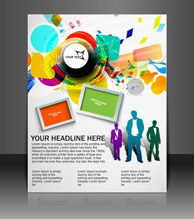 globális üzleti: Global Business Flyer & Poster Template