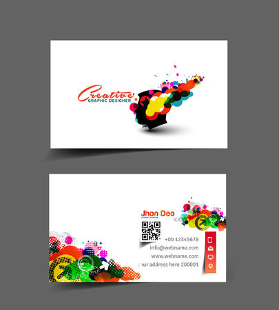 Professional and Designer Business Card set Vector