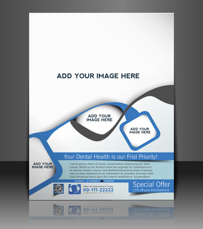Flyer & Poster Dental Template Design