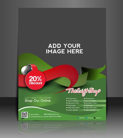 Gift Shop Flyer & Poster Template Design