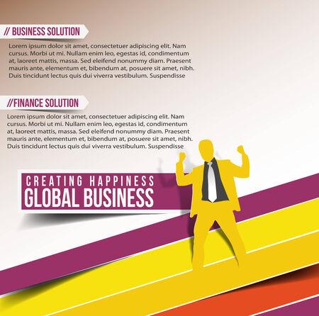 Modern Business Design Banner Template Vector