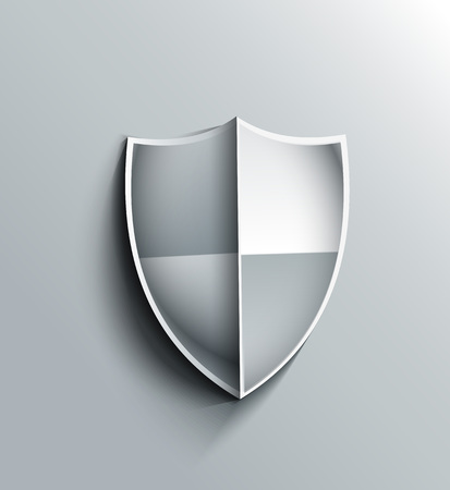 Design of shield icon vector illustration Vector