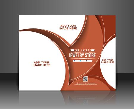 jewelry store: Jewelry Store Magazine & Poster Template Design