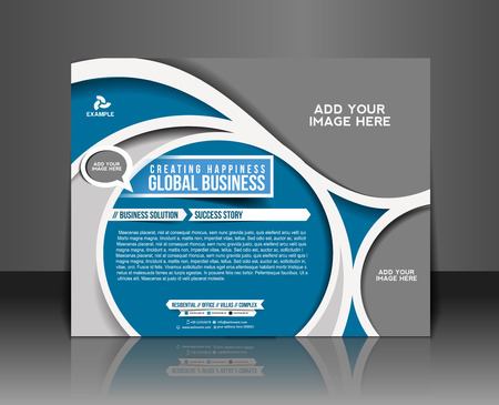 Corporate Business Flyer & Poster Template Design Vector