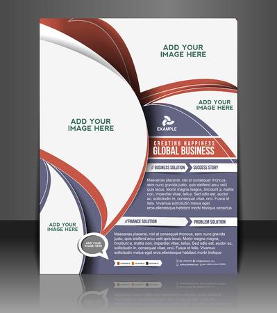 Global Business Flyer & Poster Template Design
