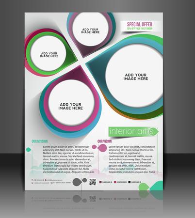 decorator: Architecture & Interior Decorator Flyer Template