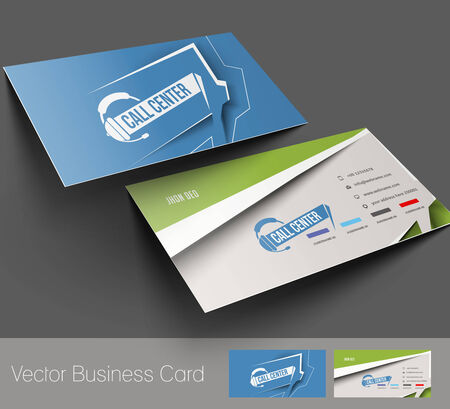 copy center: Customer Support Business Card Set