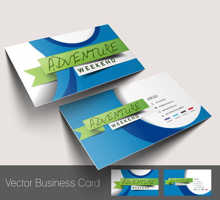 visiting card: Travel Agent Business Card Set
