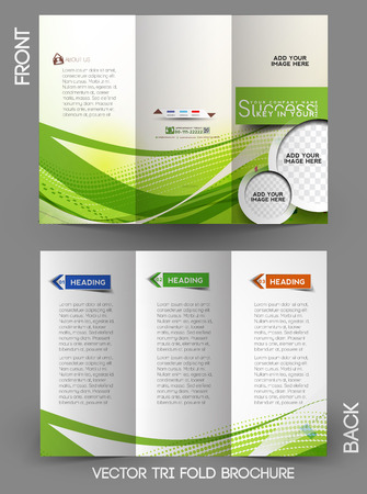 Corporate Business Tri-Fold Mock up & Brochure Design Zdjęcie Seryjne - 28113909