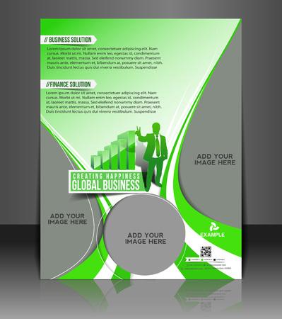 Business Flyer & Poster Template Design Vector