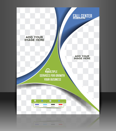 flyer template: Call Center Flyer & Poster Cover Template