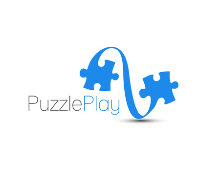 puzzle icon: Symbol of Puzzle Game, Isolated Vector Design.