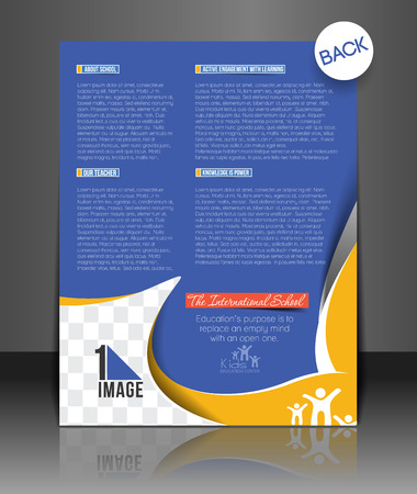 primary education: Back to School Flyer & Poster Template