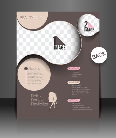 Beauty Care & Salon Flyer & poster Template