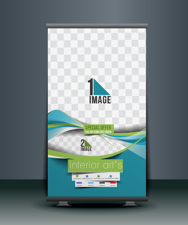 home decoration: Home Decoration Business Roll Up Banner Design