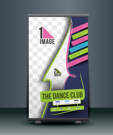 Dance Academy Business Roll Up Banner Design
