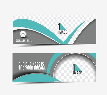Web banner for your design template royalty free cliparts modern global business design banner template vector pronofoot35fo Choice Image