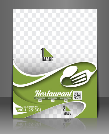 Restaurant & Hotel Flyer & Menu Card Template