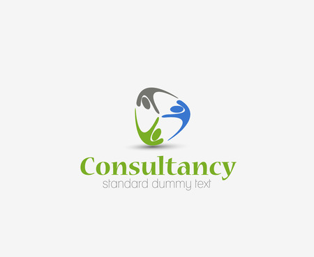 consultancy: Symbol of Consultancy, isolated vector design