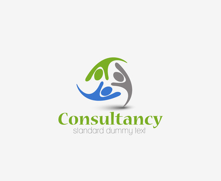 Symbol of Consultancy, isolated vector design