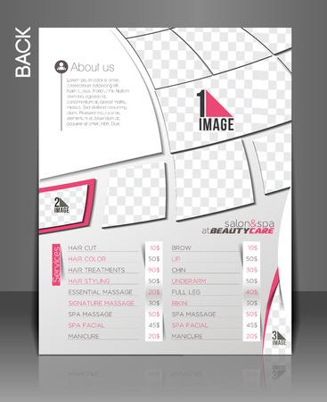 beauty care: Beauty Care & Salon Flyer & poster Template