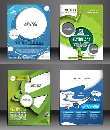 Corporate Flyer & Poster Template Bundel