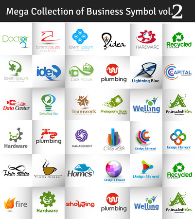 medical sign: Mega Collection of Vector Logo Design vol.2