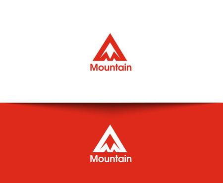 montagna: Montagna icone web e logo vettoriale Vettoriali