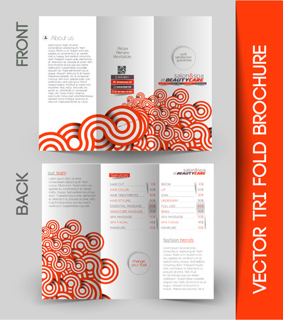 customer service: Corporate Business Tri-Fold Mock up & Brochure Design