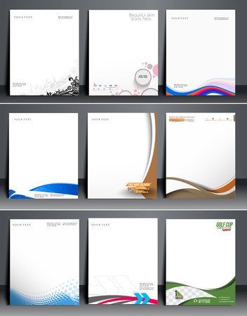 letterhead: Business Style Corporate Identity Leterhead Template.