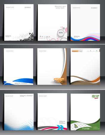 Business Style Corporate Identity Leterhead Template.