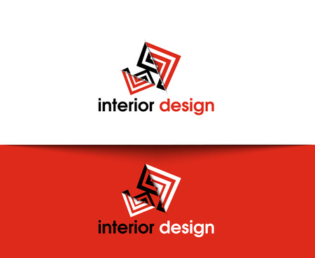 web icons: Interior Design Web Icons and Vector Logo Illustration