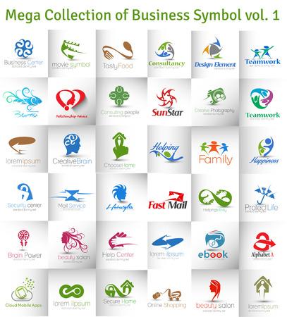 cañerías: Mega Colección de la insignia del vector Diseño
