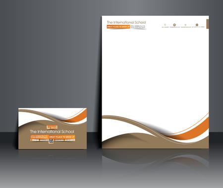 Fotografie Studio Corporate Identity Template.