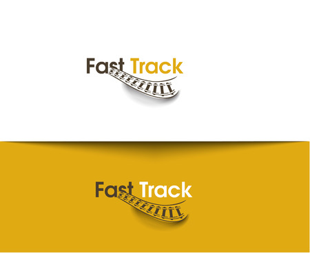 fast track: Fast Track web Icons and vector logo