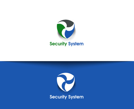 welling: Security System web Icons and abstract vector logo Design