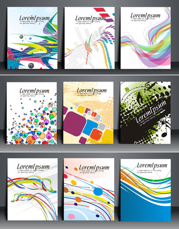 business flyer: Business Flyer Magazine Cover & Poster Bundle Template.