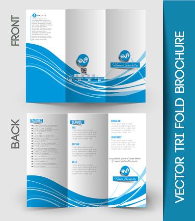 Corporate Business Tri-Fold Mock up & Brochure Design Фото со стока - 41834298