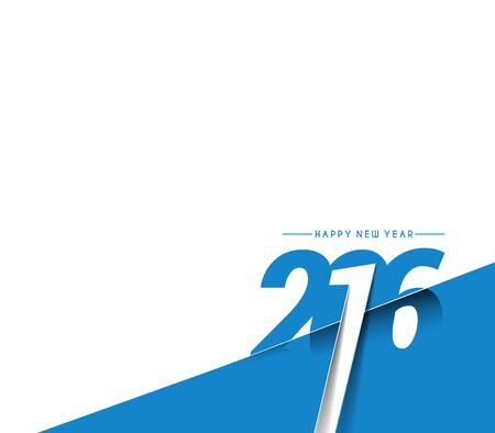 happy new year: Happy new year 2016 Background
