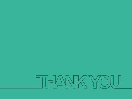 greating card: Thank You Text Design Element. Illustration