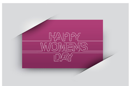 editable sign: Happy Motherss Day Typographical Vector Background