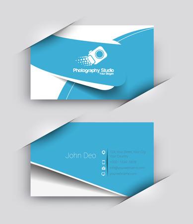 business symbol: Modern Business Card Vector Template.