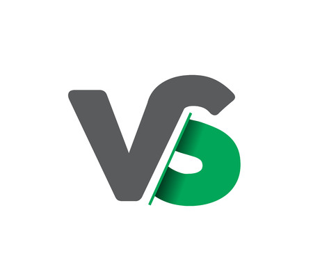 VS company linked letter logo