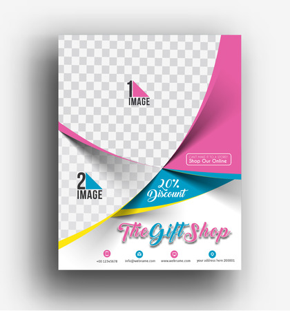 gift shop: Gift Shop Flyer & Poster Cover Template